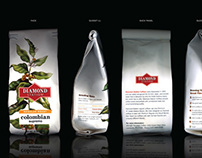 Packaging for Diamond Station Coffee