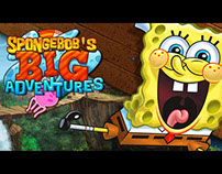 Spongebob's Big Adventure ingame animations