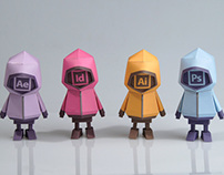 [ ADOBE TOOLS ] Paper toy of Boogiehood