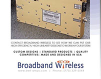 RF / Wireless Advertisement for Broadband Wireless