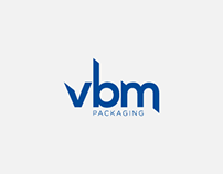 VBM Packaging Logo Design