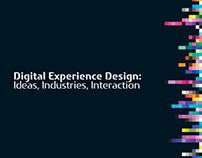 Digital Experience Design, Documentation