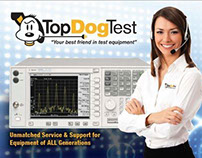 3rd Page Ad for Top Dog Test