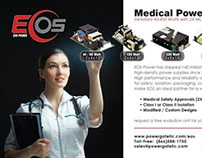 1/3 Page Horizontal Ad for Medical Design Magazine
