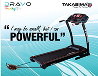 Bravo Motorized Treadmill Brochure