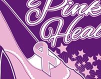 """MRMC """"Pink Heals"""" t-shirt design"""
