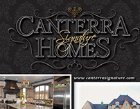 """Parade of Homes"" ad for Canterra Signature Homes"