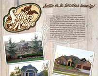 """Parade of Homes"" ad for Settler's Ridge"