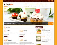 Vasacafe - HTML5 Template & CSS3