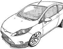 Car Drawing Techniques