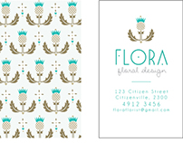 Business Card - Flora 2
