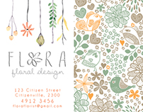 Business Card - Flora 3