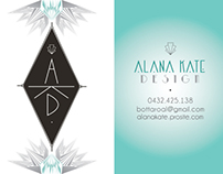 "Business Card - Mine ""AKD Design"""