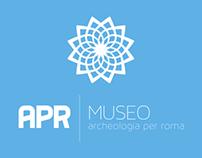 Logo APR - Museo di Archeologia Per Roma - WIP