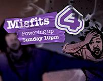 E4 Misfits S02 Trailer