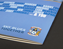 Coventry City FC Season Ticket Book