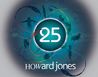Howard Jones 25 logo