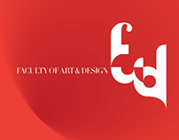 Faculty of Arts and design branding at AUM