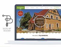 Webdesign Vila BARBORA