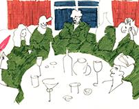 tableful