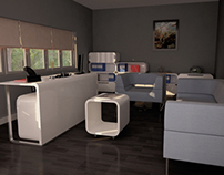 Office Furniture Concept Design for Laressa Company