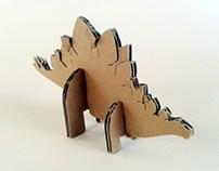 Kartonowe dinozaury - 2/ Cardboard dinosaurs – 2
