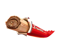 FERRERO TRONKY - VISUAL 3D FOOD