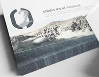 A4/ A5 Landscape Bifold Brochure Mockups V2