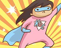 Blogger Cartoons - Kathcake.com