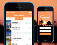 iOS7 List Screen - Voyage