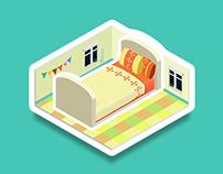 My daily life--app game, Kizipad
