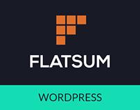 FLATSUM- Minimal Multipurpose WordPress Theme