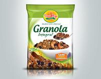 Embalagem de Granola Vovó Nize
