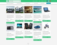 Crowdsourced Listings Website