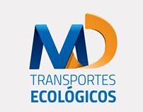 Rediseño de Logotipo MD Transportes Ecológicos