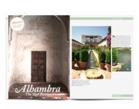 Alhambra Magazine Layouts