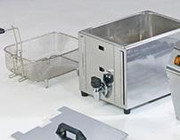 Fritadeira industrial para Fiamma