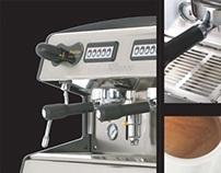Restyling Máquina de café Industrial para Fiamma