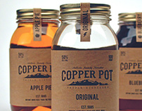Copper Pot Kentucky Moonshine