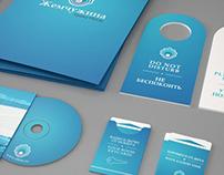 Zhemchuzhina (Pearl) - Hotel Logo Design and Branding