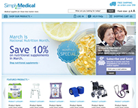 Patient Medical Products Website