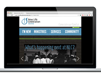 Website Redesign: New Life Celebration Church of God