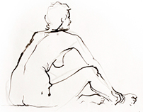 Nude sketching