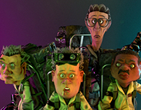 Ghostbusters -  Composition - ILM challenge