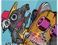 Póster Red Bull Drenaje 2014