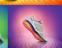 NEW BALANCE ads for FRESH FOAM road shoes