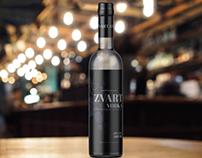 zvart vodka (packaging design)
