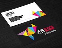REVO business card