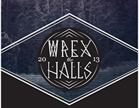 Wrex the Halls Event Poster