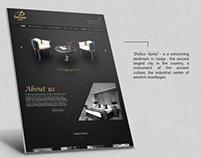 Hotel Deluxe website design